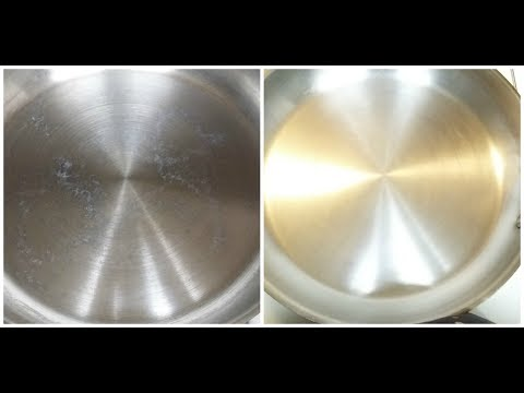 How To Clean A Stainless Steel Pan For Seasoning