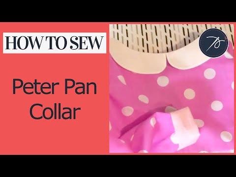 Attaching a Peter Pan Collar (Flat collar)