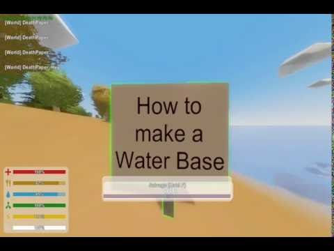 | Unturned-Building | How to make a Standard WaterBase