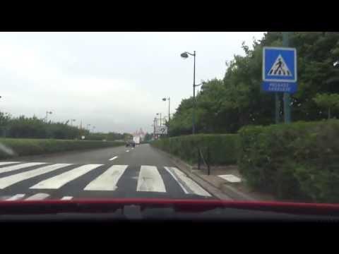 Driving 10km to Disneyland Paris and Parking at Disney Village