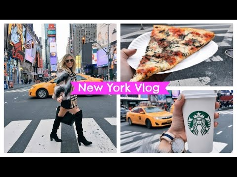 New York Vlog - Shopping in NYC - Times Square, Woodbury Common Mall, What To Do In NY | EmTalks