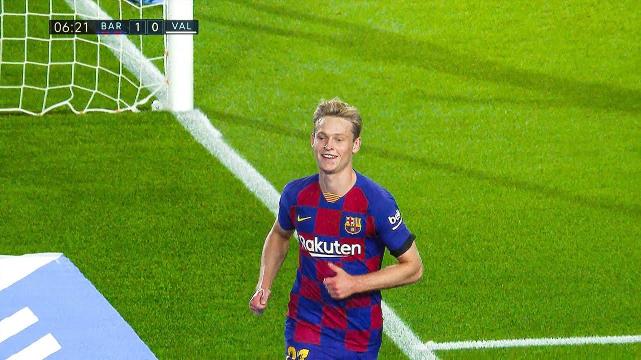 The Day Barcelona Fans Fell in Love with Frenkie De Jong