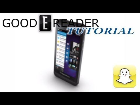 How To Load Snapchat On Blackberry 10