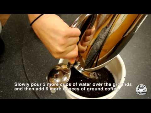 How-To Make Cold-Brew Iced Coffee Concentrate