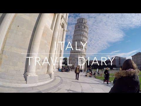 ITALY TRAVEL DIARY #5 FIRENZE, PISA & LUCCA | GIU BELLOTTI