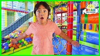 Download Ryan's Toys Went Missing Pretend Play at Indoor Playground!!! Video