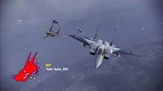 Ace Combat Infinity B2 Bomber Lv19 Vs Excalibur 2 Music Jinni