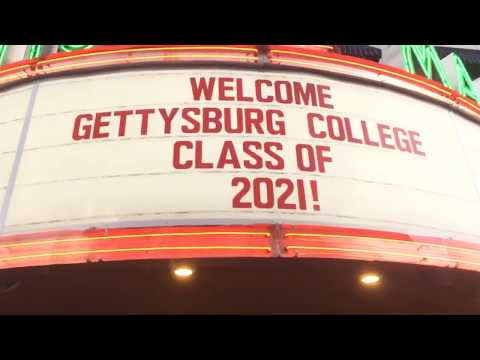 Moving in the Class of 2021 - Gettysburg College