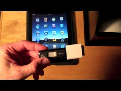 Preparing a USB Flash Drive to work with an iPad