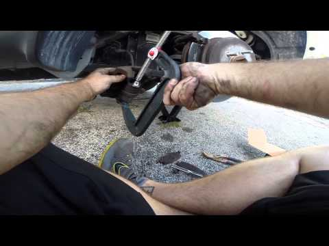 How to change the brakes on a 2008 Jeep Liberty