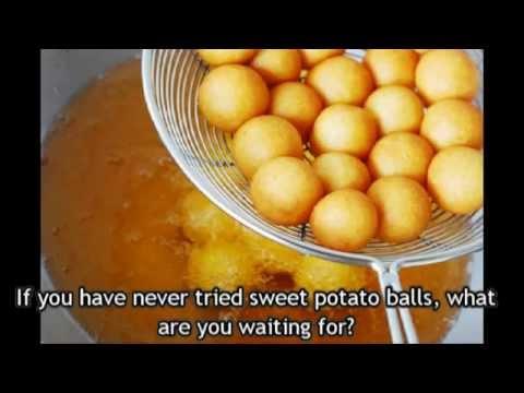 Fried Sweet Potato Balls