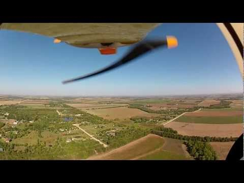 Hobbyzone Super Cub DSM High Altitude Flying with GoPro Hero 2