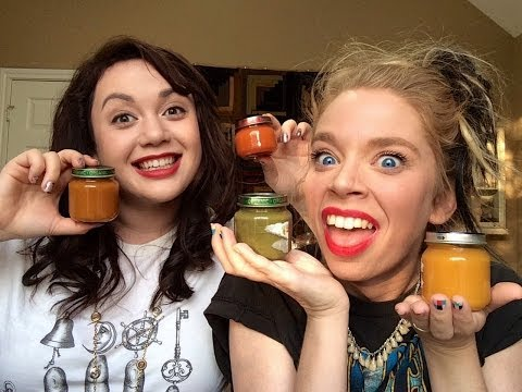 BABY FOOD CHALLENGE WITH KAT!