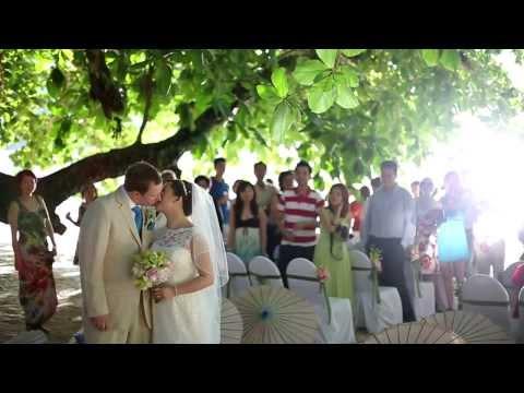 Paul + Janet Beach Wedding Cinema / Andman Resort Langkawi