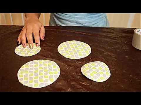 DIY: How to make CD Coasters with waste CD's