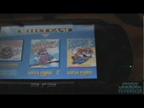How to Play SNES Games on PSP