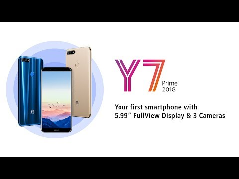 Huawei Y7 prime 2018 Global Version/ Nova 2 Lite (Malaysia) Official (Best Under $200)