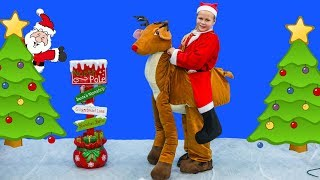 ASSISTANT Clause Gives Presents to Paw Patrol + Vampirina + Giant Pickmi Pop
