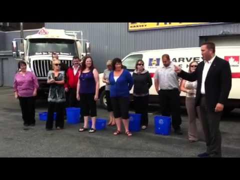 Harvey's Oil  ALS Ice Bucket Challange