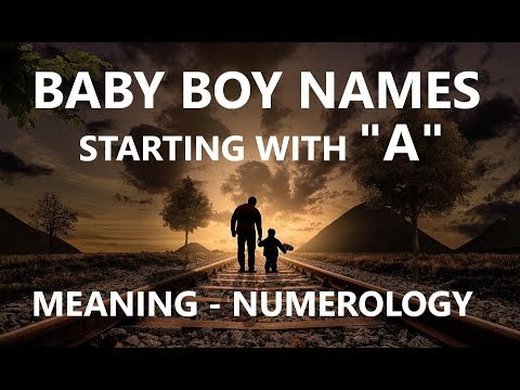 25 MODERN INDIAN HINDU BABY BOY NAMES WITH A