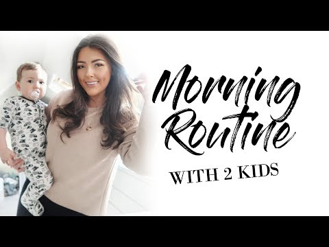MORNING ROUTINE OF A MUM/MOM WITH 2 KIDS UNDER 3 | MAMA REID