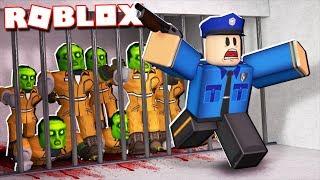 Roblox Adventures - ZOMBIE OUTBREAK IN JAILBREAK! (Roblox Jailbreak)