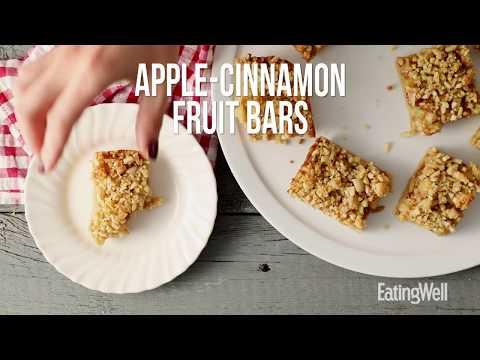 How to Make Apple-Cinnamon Fruit Bars | EatingWell