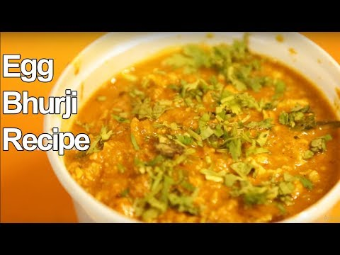Egg Bhurji Recipe | How to Make Egg Bhurji | Yummy Street Food