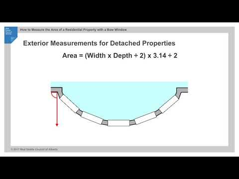 How to measure a bow window - RMS Principle 8