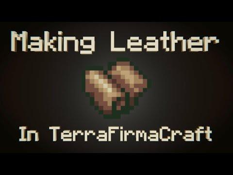 Making Leather In TerraFirmacraft   Minecraft   1.7.10  