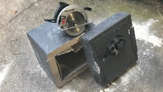 Download [756] Sentry Safe Cut in Half FAST! Video