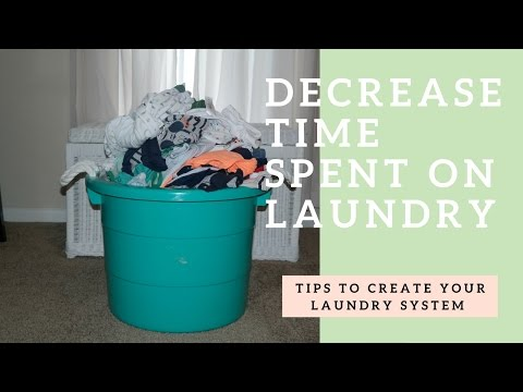 How to Catch-up on Your Laundry