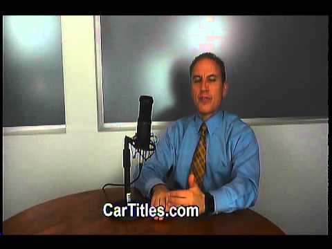 What can you do about a missing car title? | AFX