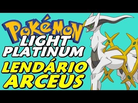 Pokémon Light Platinum (Detonado - Parte 55) - Lendário ARCEUS!!!