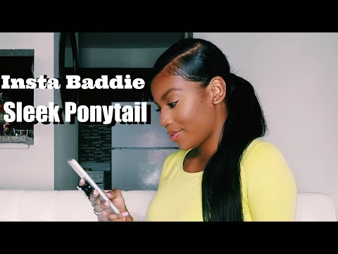 How to do a Sleek Ponytail on Natural Hair