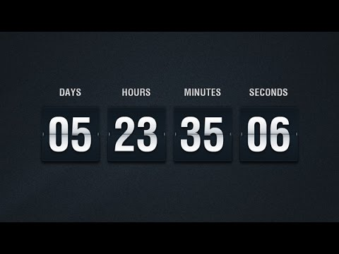 Create a javascript countdown timer