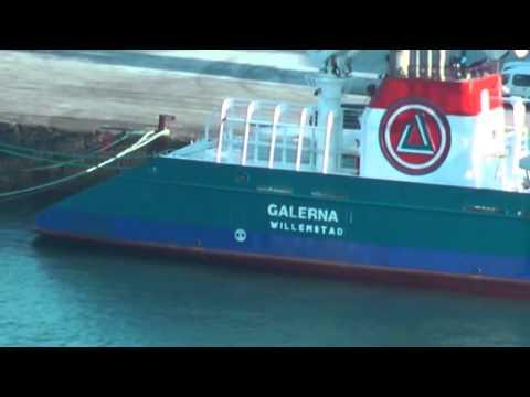 GALERNA II   IMO 9663154   PJUNT   WILLEMSTAD NETHERLANDS ANTILLES   GIJON HD