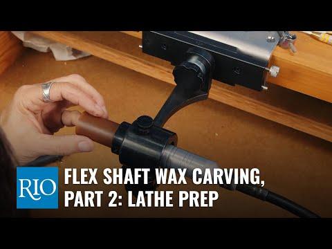 Flex Shaft Wax Carving, part 2: Lathe Prep