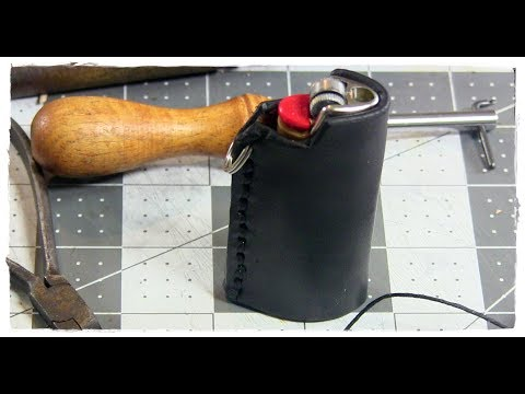 DIY Leather Bic Lighter Case