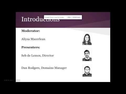Webinar | Demystifying new domain extensions