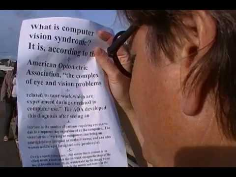 Improve Your Eyesight with the Eye Exercise Shifting With Large and Small Print