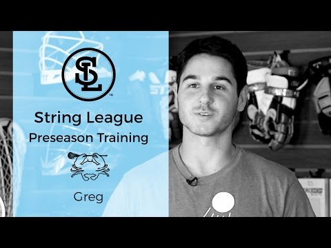 How to string LEGAL SHOOTING STRINGS in a lacrosse pocket