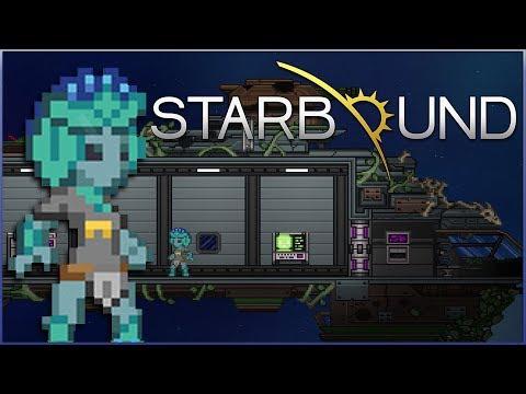 Crash-Landing of a Flowery Mad Scientist!! ☄️ Starbound - Episode #1