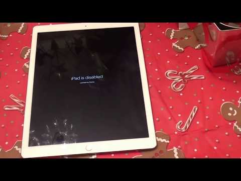 i Pad is Disabled Connect to i Tunes?? HELP ME UNLOCK? Apple iPad Pro 128GB with Wi-Fi