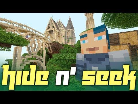Minecraft: Hide N' Seek on the Norse Mythology Mash-Up Pack!