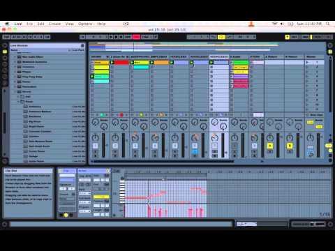 bL Beats - Ableton Live Tutorial - Hip Hop Beat 1