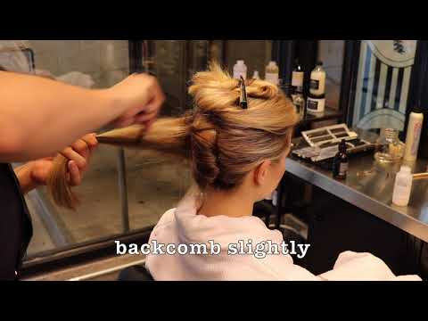 Bridal  How-To Video: Traditionalist French Twist