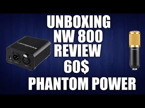 NW 800 CHEAP FULL MICROPHONE SETUP FOR UNDER $60!!!!! UNBOXING AND REVIEW