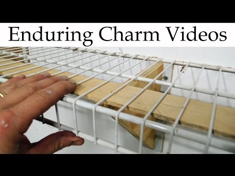 Cheap And Easy Utility Shelving