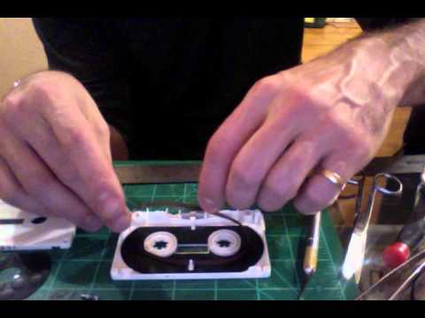 making a tape loop.